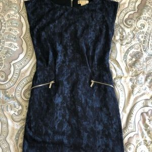 Michael Kors dark blue and black dress